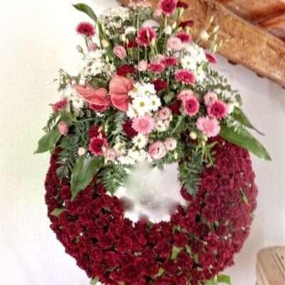 Corona para funerarios, modelo 2