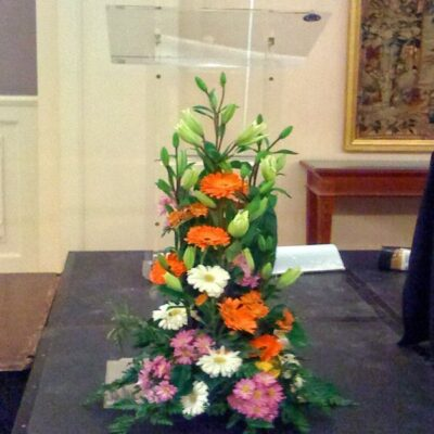 Flores para decorar eventos