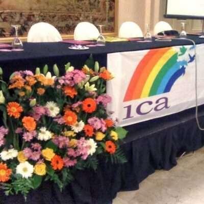 Flores para decoración de eventos