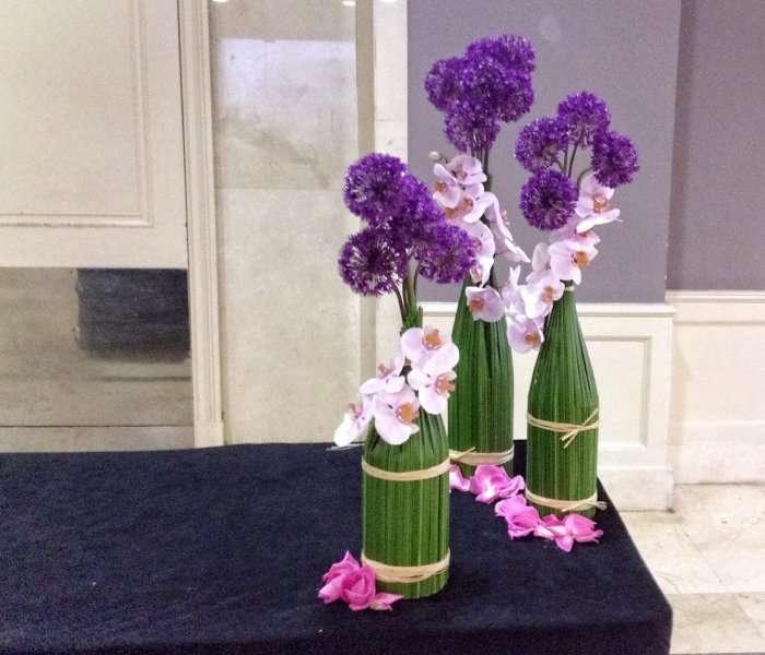 Flores para eventos y oficinas