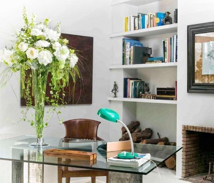 Plantas para oficina y decoraci n de despachos flores fela for Plantas para oficina