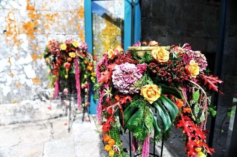Flores de bienvenida 11