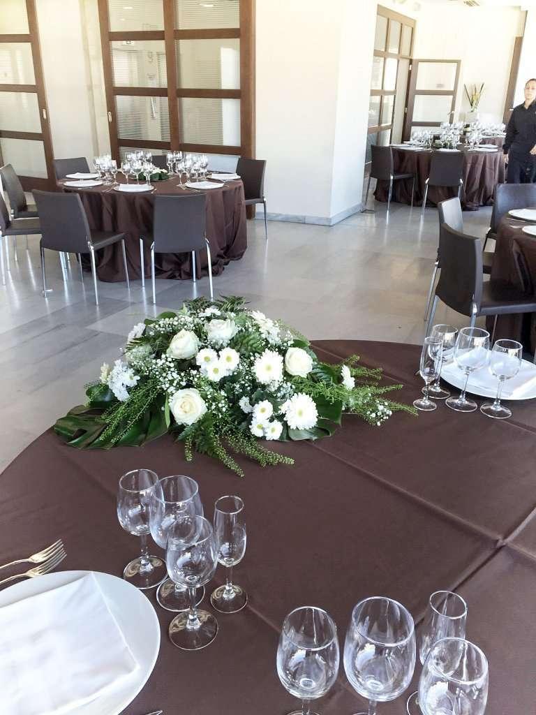 Centros de mesas para novios