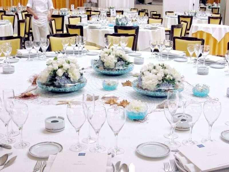 Flores para banquetes - centros de mesa