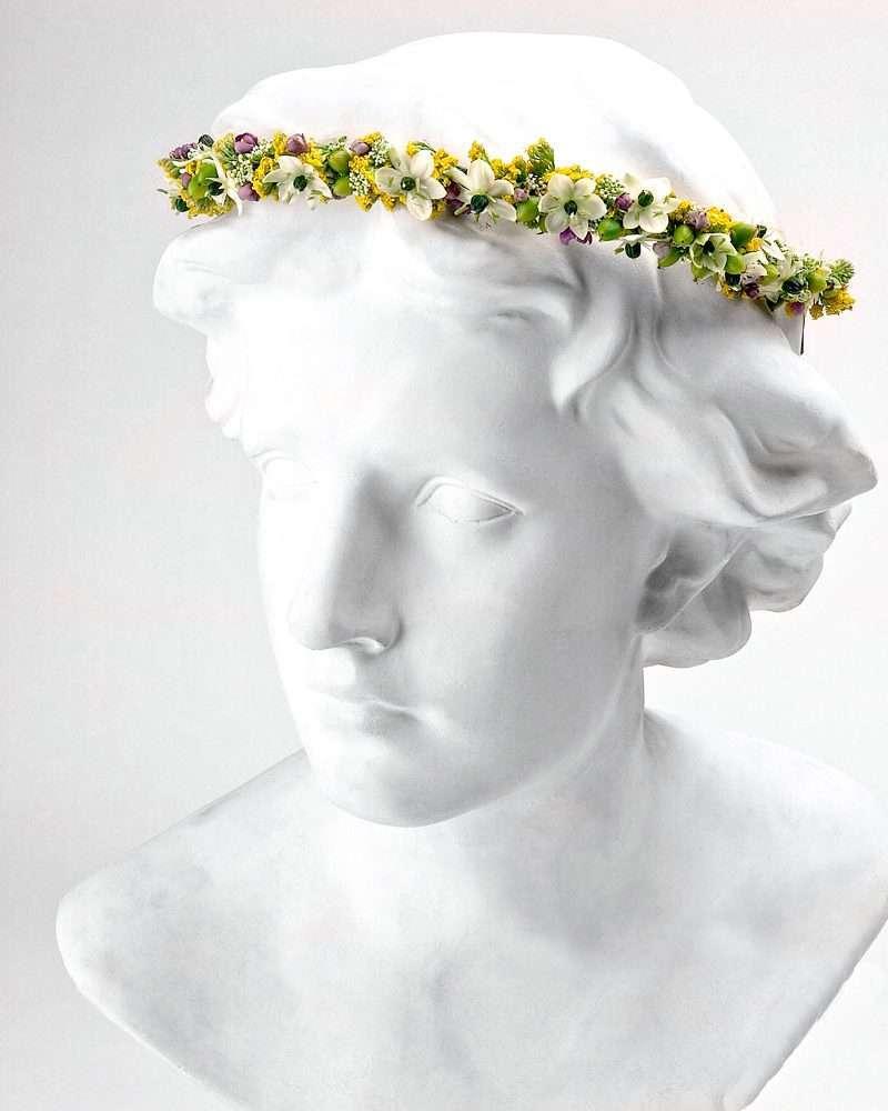 Flores para pelo niños 4