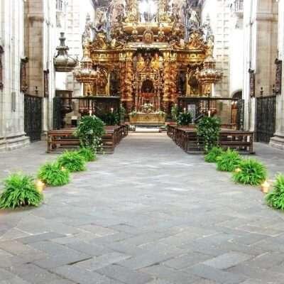 Flores para iglesia 42