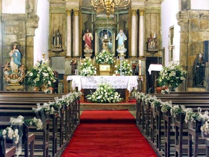 Flores para iglesia 2