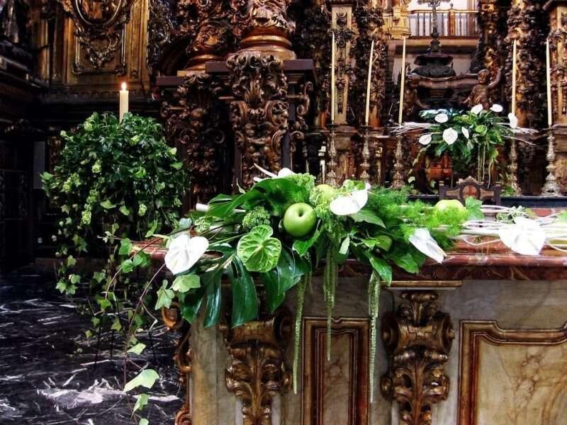 Flores para iglesia 43