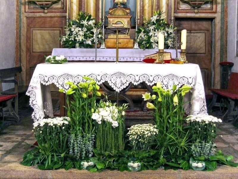 Flores para iglesia 45