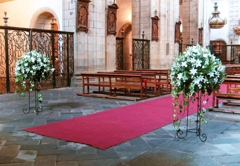 Flores para iglesia 46