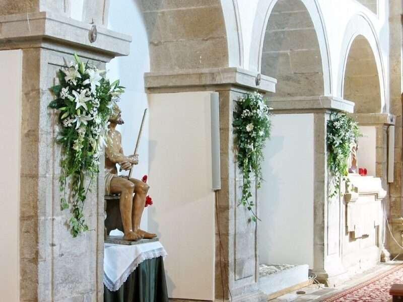 Flores para iglesia 5