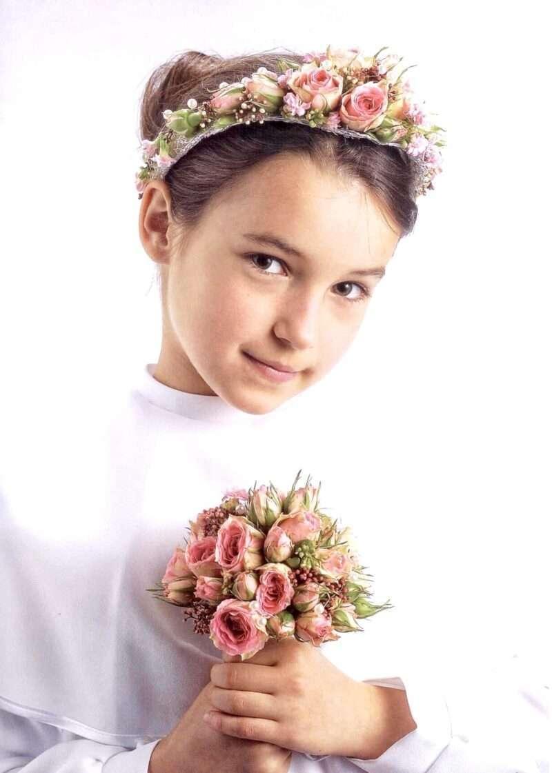 Flores para pelo niños 6
