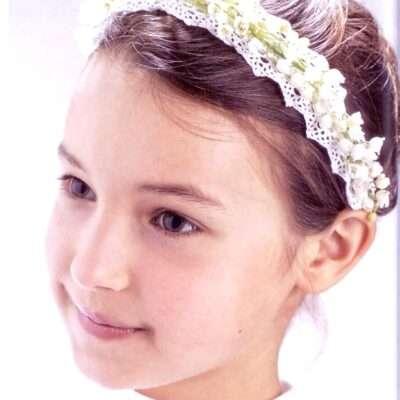 Flores para pelo niños 7