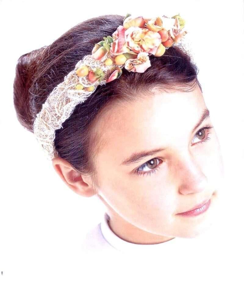 Flores para pelo niños 8