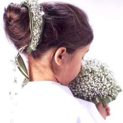 Flores para pelo niños 10