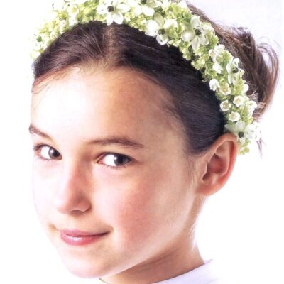 Flores para pelo niños 11