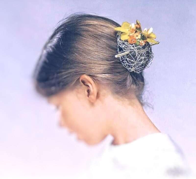 Flores para pelo niños 12