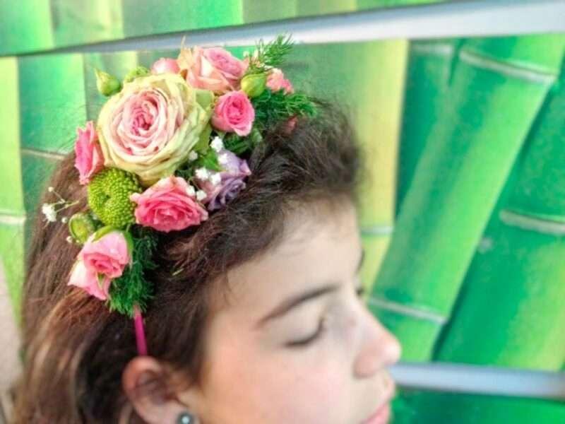 Flores para pelo niños 13
