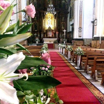 Flores para iglesia 55
