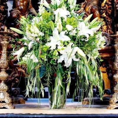 Flores para iglesia 50