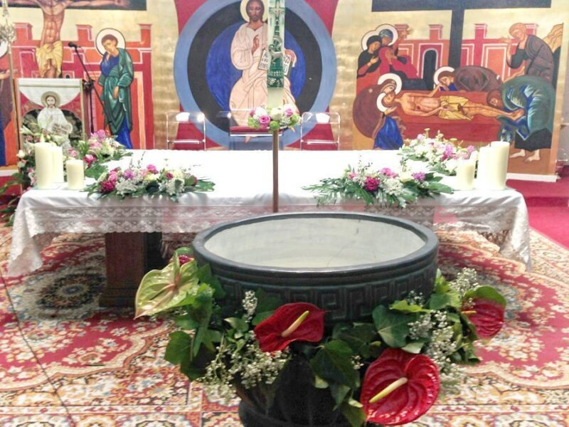 Flores para iglesia 52