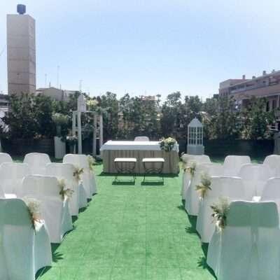 Flores para bodas civiles 1