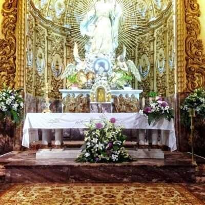 Flores para altar armonía