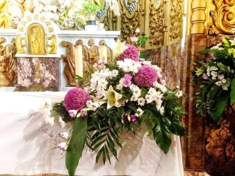 Flores para iglesia 53