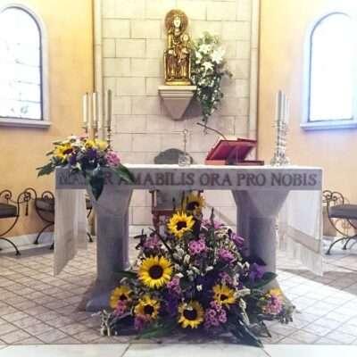 Flores para iglesia 11