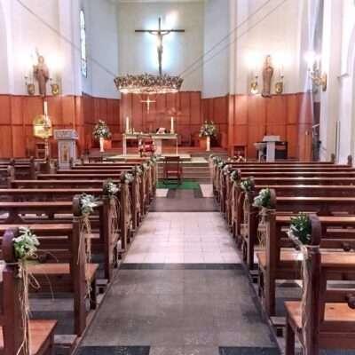 Flores para iglesia 14