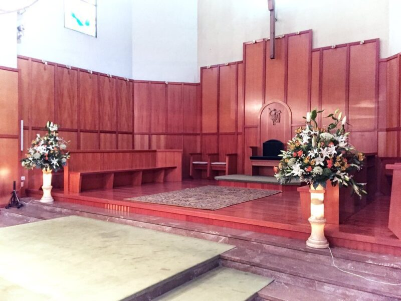 Flores para iglesia 16