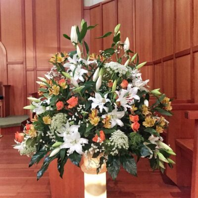 Flores para iglesia 17