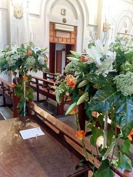 Flores para iglesia 18