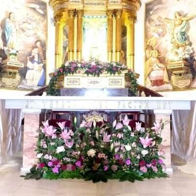 Flores para iglesia 19