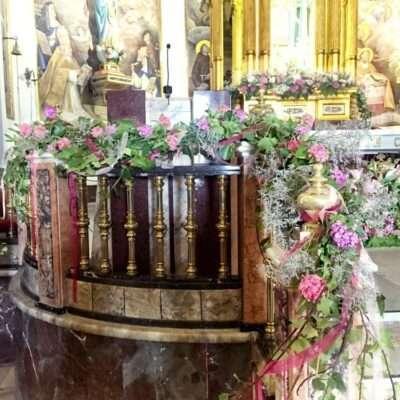 Flores para iglesia 20