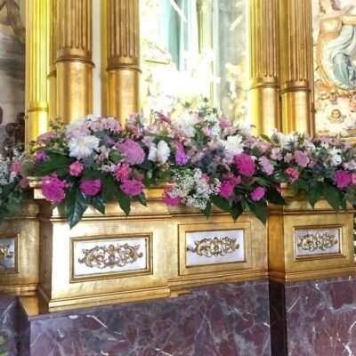 Flores para iglesia 21