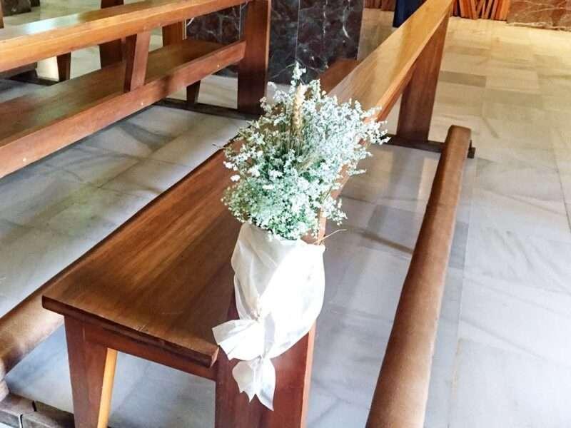 Flores para iglesia 22