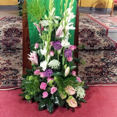 Flores para iglesia 25