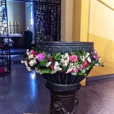 Flores para iglesia 26