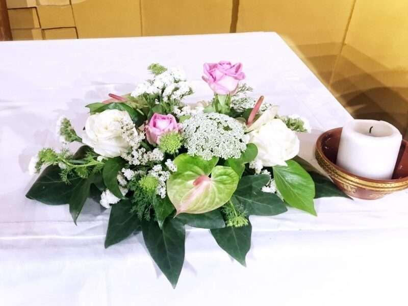 Flores para iglesia 27