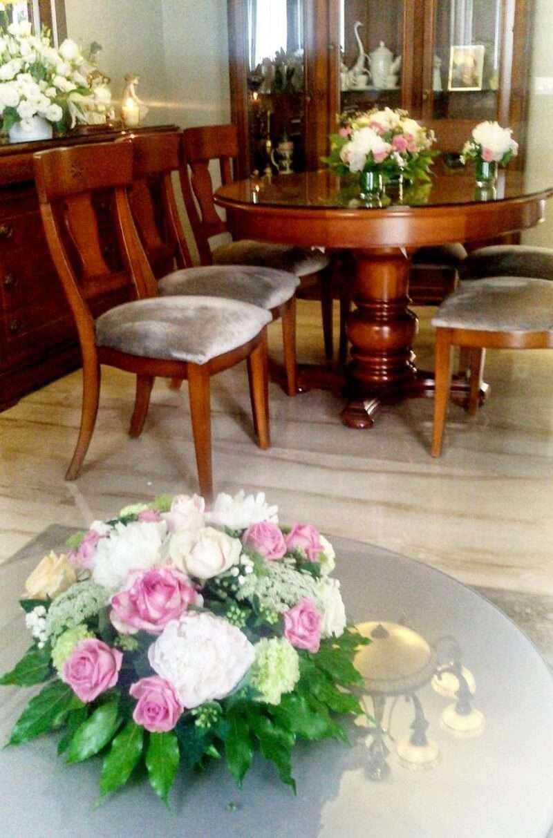 Flores casa de la novia 2