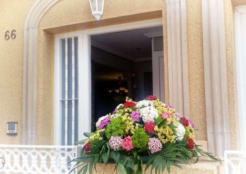 Flores casa de la novia 4