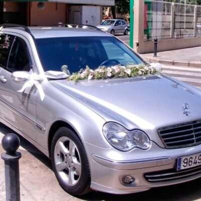Flores para coche novios 4