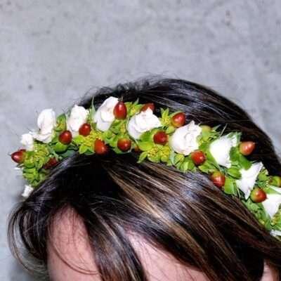 Flores para pelo niños 14