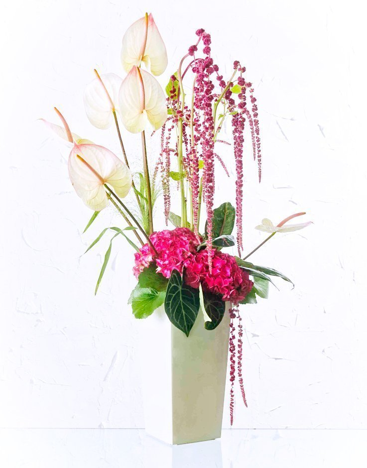 Flores de agradecimiento y regalo 7
