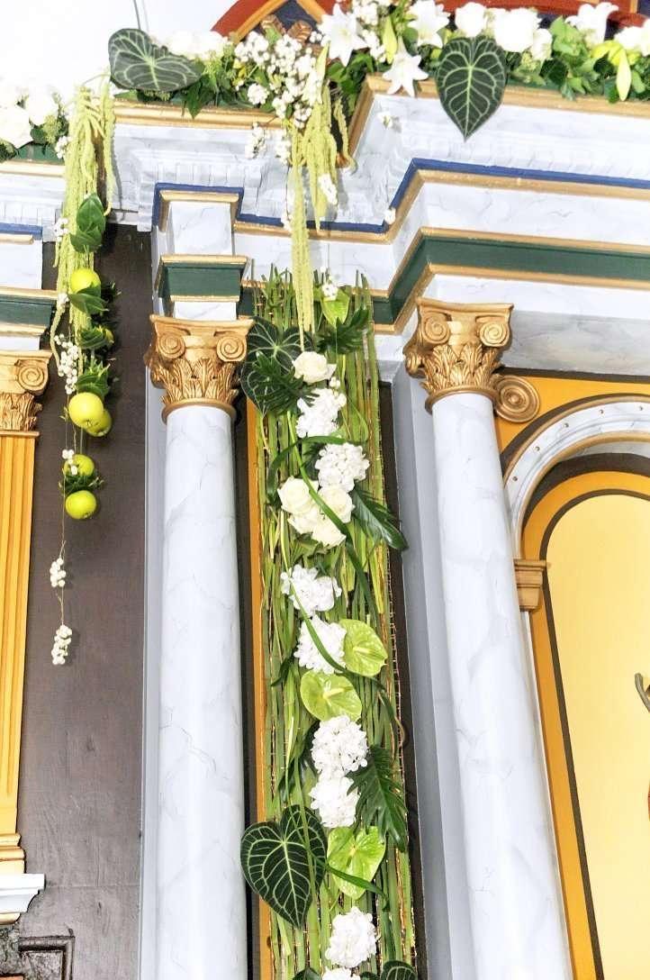 Flores para iglesia 34