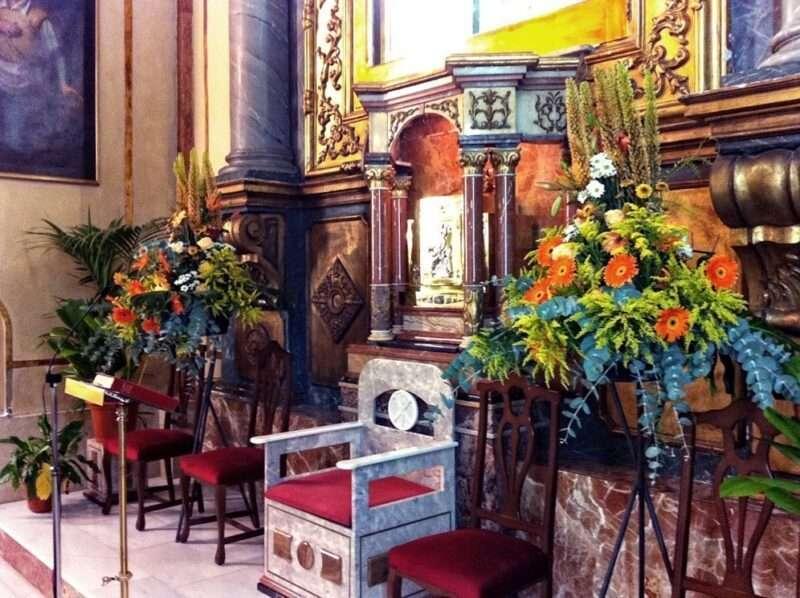 Flores para iglesia 28