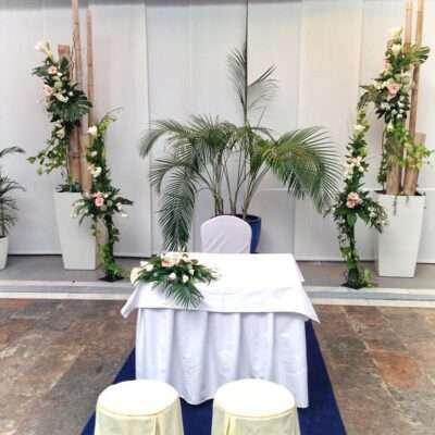 Flores para bodas civiles 11