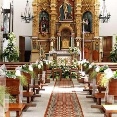 Flores para iglesia 37
