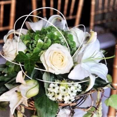 flores para pasillo Elegancia